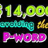 4.4 14K Avoiding The P Word