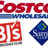 CostCo BJs Sams Logo