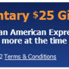 25 Amex Prepaid Card