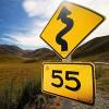55 Street Sign 200