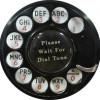 Rotary Dial Tone Phone Circle 200