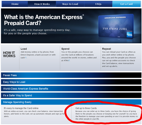 Up To $75 Bonus With Amex Prepaid (not A Credit Card