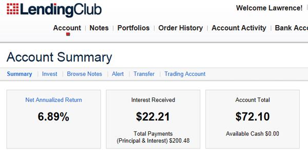 Lending Club - July 2013